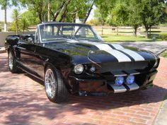 67 Mustang Eleanor Convertible. *drool*