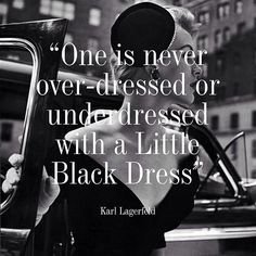 Gorgeous Couture // Little Black Dress forever