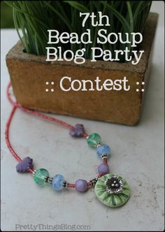 If you want to be in the running for prizes, please pin your creation AFTER your reveal date! Fusion Beads, Homemade Jewelry, Tool Design, Turquoise Bracelet, Jewelry Necklaces, Jewelry Design, Jewelry Making, Soup, Diy Projects