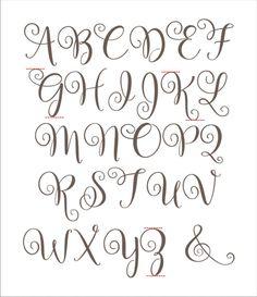 Alphabet Reusable Stencil Bal2014 A-Z Letters Available