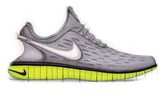 Sneaker Sketch of the Week // Eric Avar's Nike Free 5.0