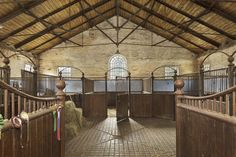 This horse stable pretty enough to live in!