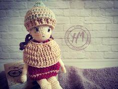 Knitted Dolls, Merino Wool, Hand Knitting, Crochet Hats, Beanie, Cool Stuff, Awesome, Winter, Etsy