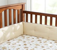 Organic Baby Elephant Crib Fitted Sheet #PotteryBarnKids