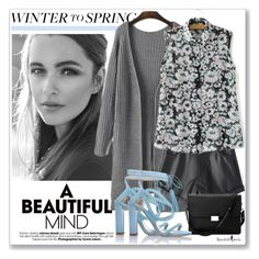 """""""WINTER TO SPRING #25"""" by valentina-agnese ❤ liked on Polyvore featuring Chelsea Paris, Aspinal of London, layers, Wintertospring and beautifulhalo"""