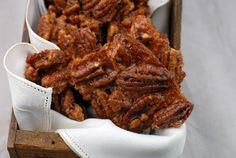 Paleo Cinnamon Pecan Brittle is peanut-free, made with 5 healthy ingredients, and addictive! A great paleo snack or healthy holiday treat.