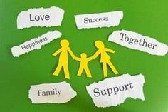 Family communication creates support, success, and happiness.