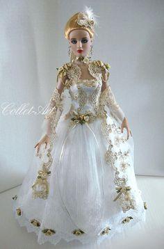 "https://flic.kr/p/mpixWB   2014 Tonner Antoinette Cami Jon OOAK Fashion ""Dream Waltz"" Collet-Art"