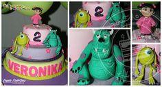 Torta Monster INC
