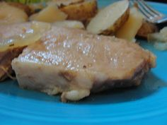The Mommy Island: Sweet Onion Pork Chops~ Made in the Slow Cooker~ Wholesome Sweeteners Review Day 1
