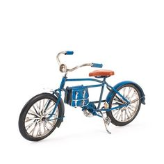 Miniatura Bicicleta Decorativa - Azul