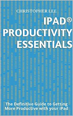 My new ebook is out, Over 100 pages and 20,000 words on how to use an iPad to get more productive at work...and in life! Check it out, only 99cents for a limited time! - iPad® Productivity Essentials: The Definitive Guide to Getting More Productive with your iPad by Christopher Lee, http://www.amazon.com/dp/B00RSL6I7S/ref=cm_sw_r_pi_dp_0JZQub1WYXQAQ