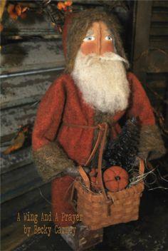 love this old santa