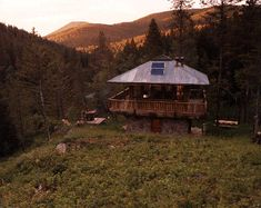 AIA - Montana, Design Awards -- Judith Mountain Cabin - Prairie Wind Architecture
