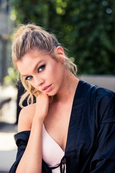 """1ee03d01b9d3 vogue-at-heart  """" Stella Maxwell for The Coveteur Photographed by Jake  Rosenberg """""""