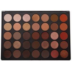 35O 35 COLOR NATURE GLOW EYESHADOW PALETTE Morphe (€20) ❤ liked on Polyvore featuring beauty products, makeup, eye makeup, eyeshadow, beauty, filler, morphe eyeshadow and palette eyeshadow