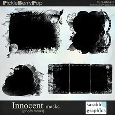 Innocent masks By Sarahh Graphics