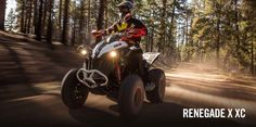 New 2017 Can-Am Renegade X xc 850 ATVs For Sale in New York. BUILT TO MEET THE MOST DEMANDING RIDERUnparalleled performance and style for the most demanding ride
