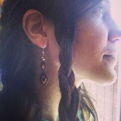 Nuevas creaciones para quemando_hilo  #pendientes #earrings #macramejewelry #handmade #viking #jewelry #fantasy #summer #festivalfashion #festivalstyle #hippychic #etsyshop #etsy #quemandohilo