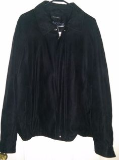 Claiborne Men's Black Sueded Finish Coat Size XL #Claiborne #BasicCoat