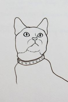 I've always been a fan of simplicity. line and ink drawings are such an easy and relaxing way to draw. Realistic drawings are always impressive, but when one masters a single line, simple pet sketches can be impressive art too.  #petdrawing #pets #portriat #drawing #sketches #cats #feline #simple #easy #drawingidea #drawingforbeginners #sketchbook #drawingidea #art
