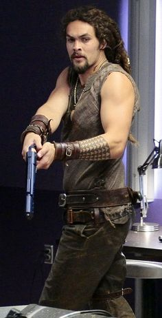 Jason Momoa as Ronon Dex (Stargate: Atlantis) I really loved Ronon