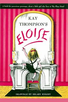 Eloise: the absolutely essential edition by Kay Thompson. The story of Eloise, a city child who lives in the Plaza Hotel. Includes a scrapbook with photos, drawings, and the story by Kay Thompson about how Eloise came to be written. Best Children Books, Childrens Books, Hotels In New York, Eloise At The Plaza, Good Books, Books To Read, Reading Books, Reading Club, Reading Library