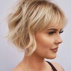 Haare kurz mittel lang Beste Haarschnitte