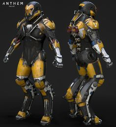 ArtStation - The Javelin: Ranger, Corbax Studio Cyberpunk, Futuristic Armour, Futuristic Art, Robot Concept Art, Armor Concept, Anthem Game, Combat Suit, Sci Fi Armor, Future Soldier