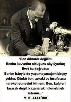 Kalpleri kazanarak hukmeden bir lider o. Meaningful Quotes, Inspirational Quotes, Riders On The Storm, Turkish People, The Turk, Fathers Love, Great Leaders, World Peace, Wonders Of The World