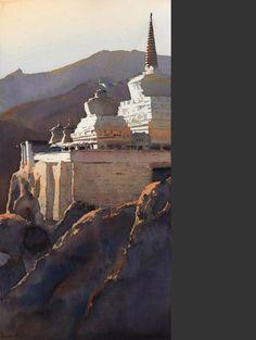 Lamayuru Chorten - Michael Reardon
