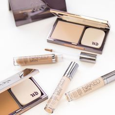 New in Urban Decay Cosmetics Naked Skin! This foundation and concealer is double the fun. #Beauty #Foundation #Concealer