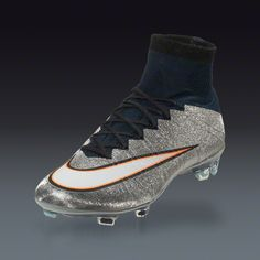 Nike Mercurial Superfly CR7 FG - Metallic Silver Firm Ground Soccer Shoes  25c0c3427821b