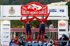 Winner Sébastien Ogier, Julien Ingrassia, Citroën World Rally Team Citroen WRC at Rally Monte Carlo High-Res Professional Motorsports Photography Monte Carlo, Formula 1, World, Photography, Image, Houses, Rally, The World, Fotografie