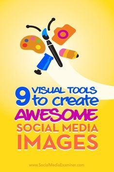 Do you want to create professional-grade social media visuals?  Visual content can increase your visibility on social media and support your branding.  In this article, youll discover nine free tools to help you create beautiful visual content for your