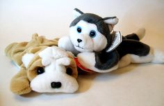 Ty Beanie Babies Wrinkles and Nanook Stuffed by ParadeOfMemories