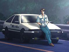 Initial D New Anime Announced | TheAkiba