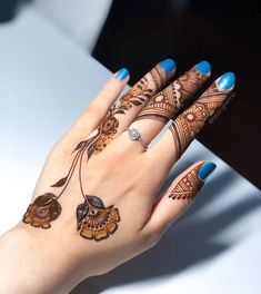 Mehndi Designs: Simple And Easy Henna Pakistani Mehndi Designs, Dulhan Mehndi Designs, Mehandi Designs, Mehendi, Mehndi Designs For Girls, Mehndi Designs For Beginners, Latest Mehndi Designs, Heena Design, Henna Mehndi