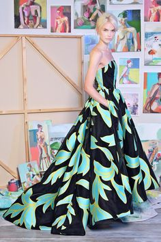 one of my favorite oversized patterns to pop up for RESORT 2015 so far. Yay to Christian Siriano. Christian Siriano resort 2015 Looks 42,37,38