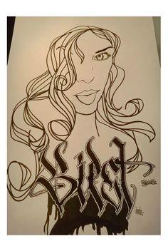 #Calligraphy #Sketch #Biest #DonFu  visit www.graffiticoncepts.de
