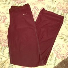 Brown Nike Dri-Fit Small Pants!! These Nike Dri-Fit pants are so comfortable!! Nike Pants