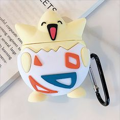 Togepi Pocket Monsters Cartoon cute soft silicone case Airpods Case Earphones Headphone Stand Phone Cases Cover Clear Apple Airpod Pro Airpod Pro, Marketing And Advertising, Monsters, Phone Cases, Apple, Cartoon, Pocket, Cover, Apple Fruit