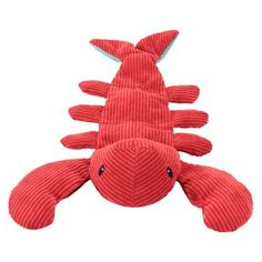 Squeaky Sealife Lobster Dog Toy - Boots & Barkley™