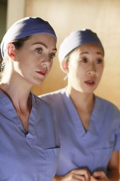 The dark and twisty sisters on Grey's Anatomy Meredith Grey and Cristina Yang Meredith Grey, Meredith And Christina, Greys Anatomy Funny, Greys Anatomy Cast, Anatomy Images, Female Friendship, Friendship Quotes, Gray Aesthetic, Dark And Twisty