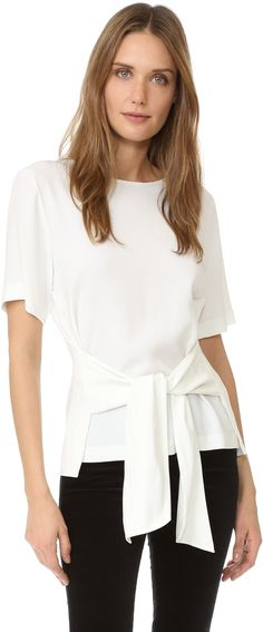 Club Monaco Telaim Bow Top