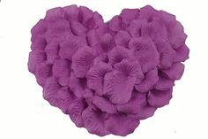 Wholesale Lot 4000 PCS Dark Purple Silk Rose Petals Wedding Flower Decoration Wf-009 >>> For more information, visit image link.