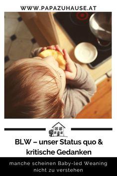 Baby-led Weaning hat uns für den Beikoststart von Anfang an überzeugt! Doch wie läuft es mittlerweile bei uns in Sachen BLW? #babyledweaning #blw #beikost #beikosteinführen #beikoststart #beikostrezepte #babynahrung #papablog #familienblog #papasein #el Baby Led Weaning, Babys, Healthy Eating For Kids, Baby Meals, Ideas For Gifts, Kids Booster Seat, Kid Recipes, Babies, Baby