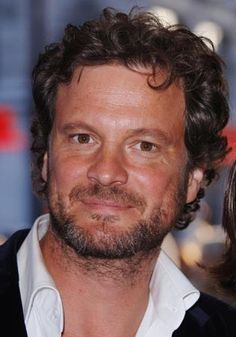 Colin Firth a little unkempt... i like it that way