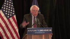 Sanders Outlines Middle East Policy