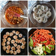 This Shrimp with Hot Garlic Sauce is family approved. Comes together in just minutes, so its perfect for those busy weeknight meals. Best Shrimp Recipes, Shrimp Salad Recipes, Shrimp Recipes For Dinner, Shrimp Dishes, Seafood Recipes, Asian Recipes, Arugula Salad Recipes, Hot Garlic Sauce, Weeknight Meals
